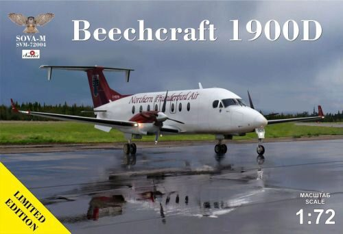 Modelsvit SVM-72004 Beechcraft 1900D Northern Thunderbird Air C-FDTR