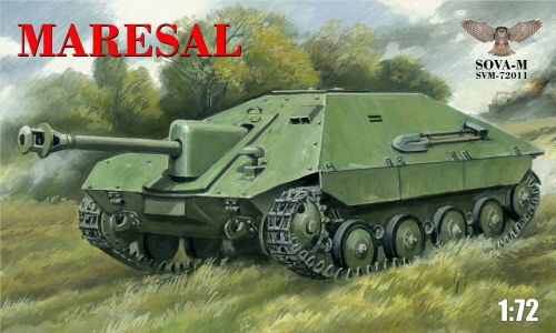"Modelsvit SVM-72011 Romanian tank destroyer""Mar esal""M-04"