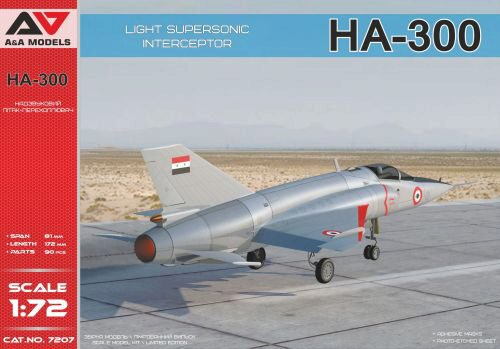 Modelsvit AAM 7207 HA-300 Light supersonic interceptor