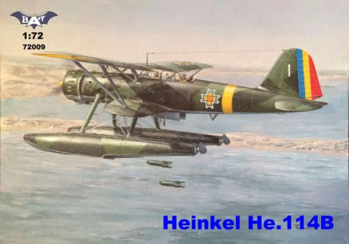 BAT Project BAT72009 Heinkel He 114B floatplane