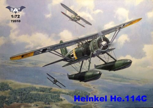 BAT Project BAT72010 Heinkel He 114C floatplane
