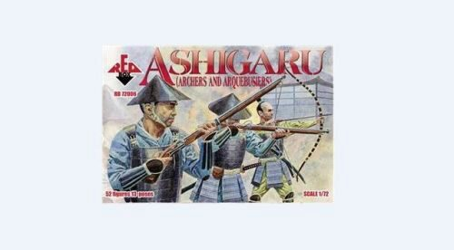 Red Box RB72006 Ashigaru (Archers and Arquebusiers)