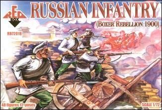 Red Box RB72018 Russian Infantry, Boxer Rebellion 1900
