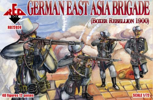 Red Box RB72024 German East Asia brigade, Rebellion 1900