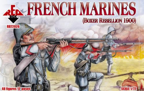 Red Box RB72026 French marines, Boxer Rebellion 1900