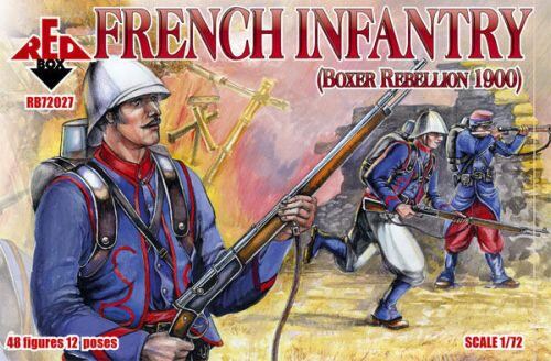 Red Box RB72027 French Infantry, Boxer Rebellion 1900