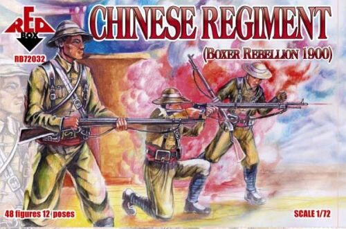Red Box RB72032 Chinese Regiment, Boxer Rebellion 1900