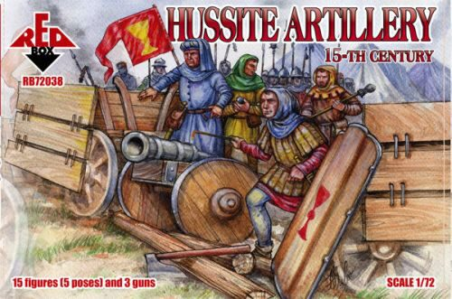 Red Box RB72038 Hussite artillery, 15. century