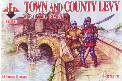 Red Box RB72041 Town & Country Levy, War of the Roses 2