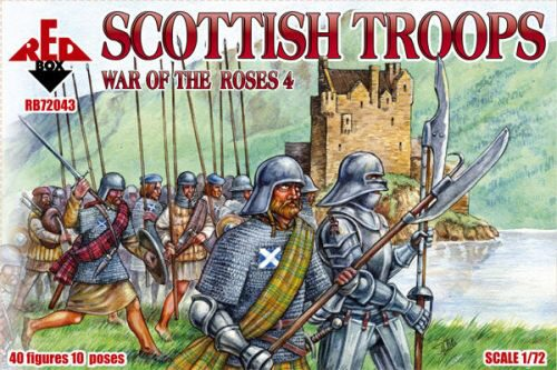 Red Box RB72043 Scottish troops, war ot the Roses 4