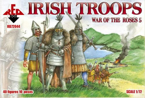 Red Box RB72044 Irish troops, War of the Roses 5