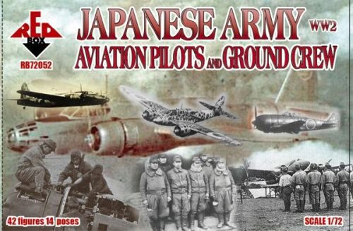Red Box RB72052 WW2 Japanese Army Aviation pilots a.grcr