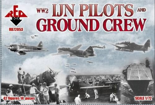 Red Box RB72053 WW2 IJN pilots and ground crew