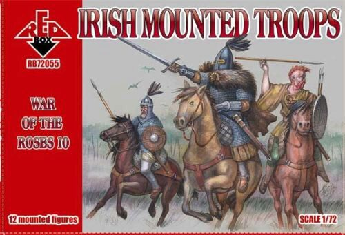 Red Box RB72055 Irish mounted troops,War of the Roses 10