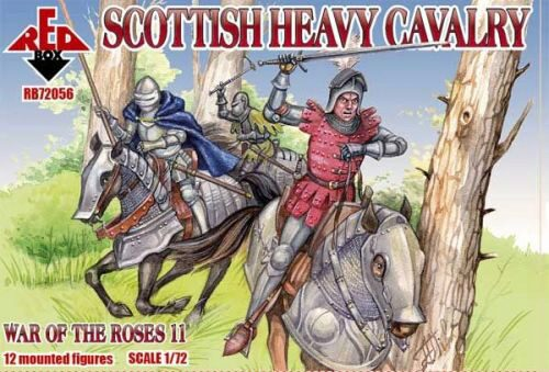 Red Box RB72056 Scottish heavy cavalry,War o.the Roses11