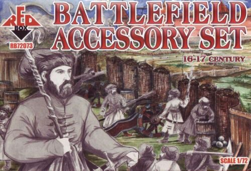 Red Box RB72073 Battlefield accessory set,16th-17th cent