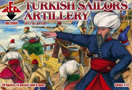 Red Box RB72080 Turkish sailor artillery,16-17th century