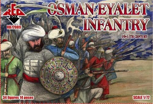 Red Box RB72088 Osman Eyalet infantry,16-17th century