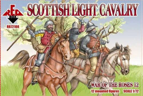 Red Box RB72108 Scottish light cavalry,War o.the Roses12