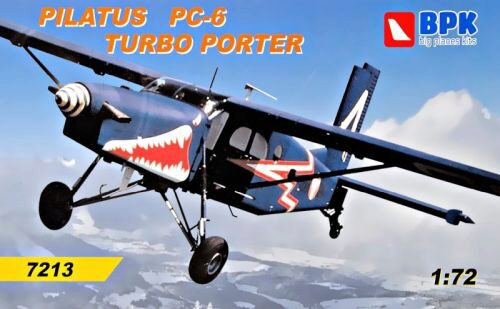 Big Planes Kits BPK7213 Pilatus PC-6 Turbo Porter