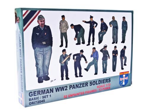 Orion ORI72045 WWII German panzer soldiers, set 1