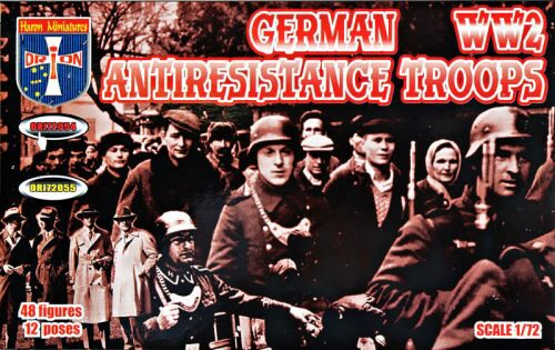 Orion ORI72054 German antiresistance troops. WW2