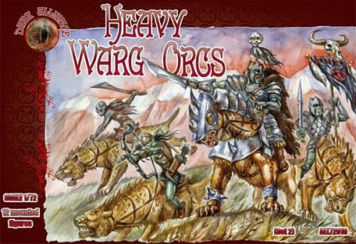 ALLIANCE ALL72010 Heavy Warg Orcs