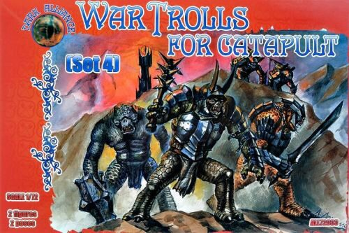 ALLIANCE ALL72033 War Trolls for catapult, set 4