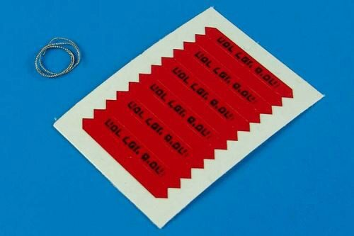 Aerobonus 320.011 Remove before flight flags -IDF- black l