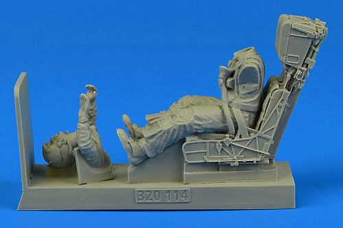 Aerobonus 320.114 US Navy Pilot for F/A-18A/C with ejectio seat for Academy