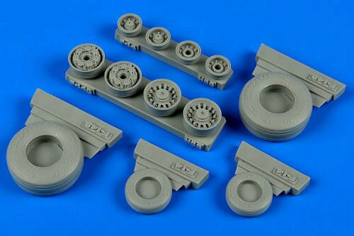 Wheelliant 148.012 F-14B/D Tomcat weigted wheels f.HobbyBos