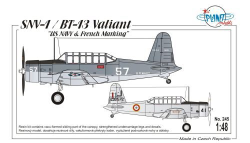 Planet Models PLT245 SNV-1/BT-13 Valiant
