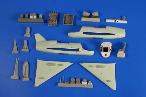 Planet Models PLT266 Short SC-1 First British VTOL Aircraft