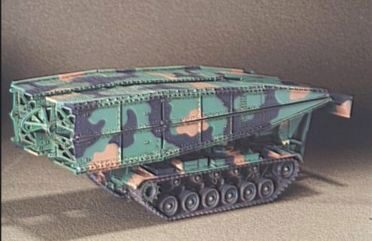Hobby Fan HF018 M48 AVLB Armored Vehicle Launched Bridge