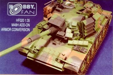 Hobby Fan HF020 M48H Add-On Armor Conversion
