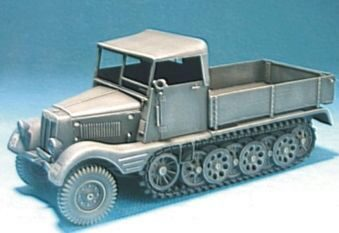 Hobby Fan HF054 Sd. Kfz.11/1 with wood Cab Conversion
