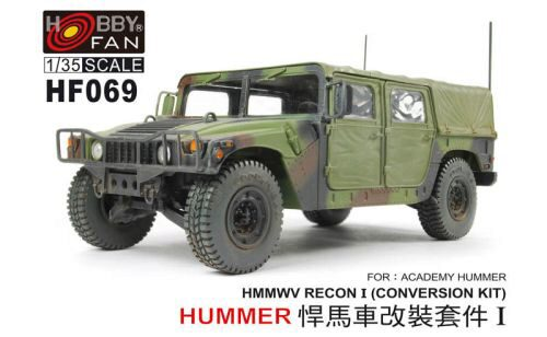 Hobby Fan HF069 Conversion HMMWV for HUMMER-I ACADEMY