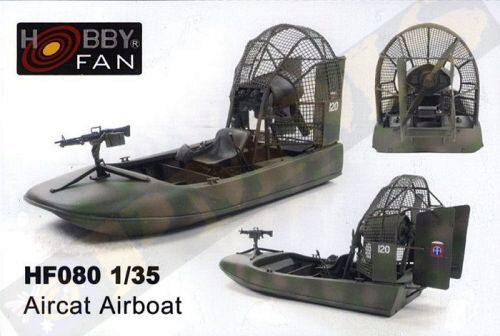 Hobby Fan HF080 Aircat Airboat (complete resin kit)