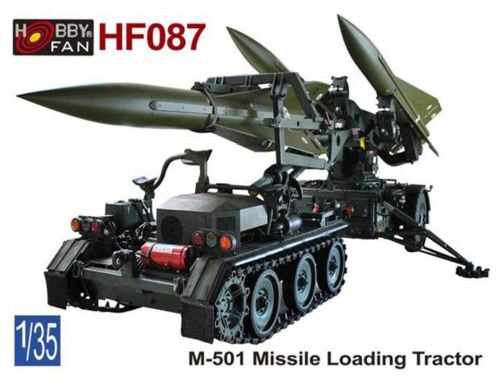 Hobby Fan HF087 M-501 Missile Loading Tractor