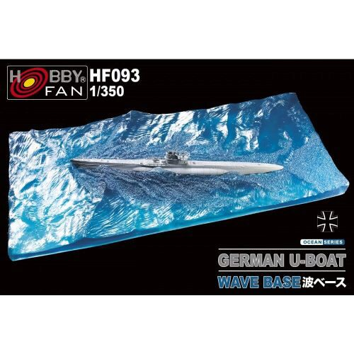 Hobby Fan HF093 Wave Base for German U-Boat