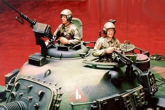 Hobby Fan HF506 Tank crew for M48H RROC