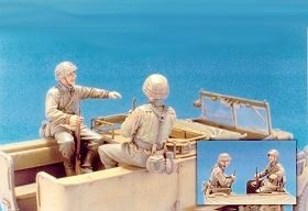 Hobby Fan HF537 Sd.Kfz.11 3T Eastern Front Crew (1)/2Fig