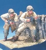 Hobby Fan HF565 U.S. Airborn in D-Day 2 Figures