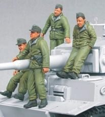 Hobby Fan HF567 Waffen SS Tiger I Crew (eastern Front)