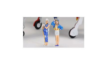 Super Wing Series SWS-SP01F01 Belldandy & Urd Race Queen Ver.