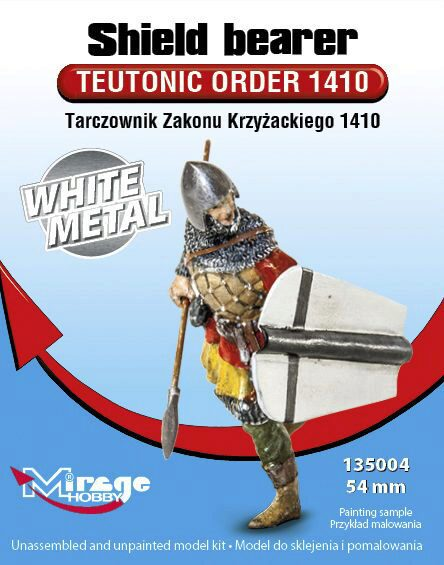 "Mirage Hobby 135004 Shield Order""Teutonic Order1410 WhiteMet"