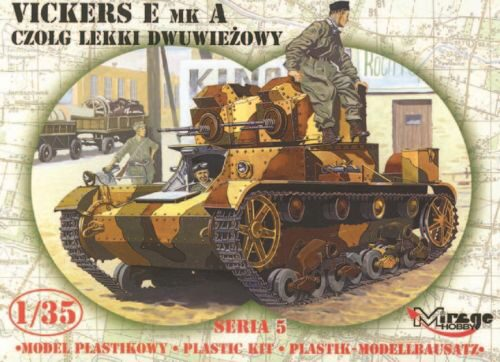 Mirage Hobby 35303 Leichter Panzer Vickers E Mk A Limited Edition