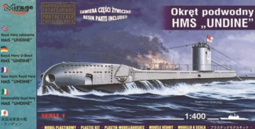 Mirage Hobby 40429 U-Boot HMS Undine der Royal Navy