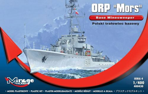 "Mirage Hobby 400430 ORP ""MORS"" Base Minesweeper"