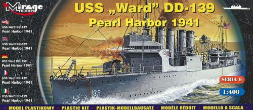 Mirage Hobby 40601 USS Ward DD-139 'Pearl Harbor 1941'